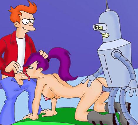 Futurama sex orgy